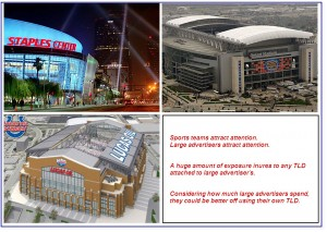 Naming Rights on Sports Stadiums and New TLDs